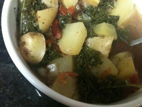 vegetarian kale soup | Nommage | Pinterest