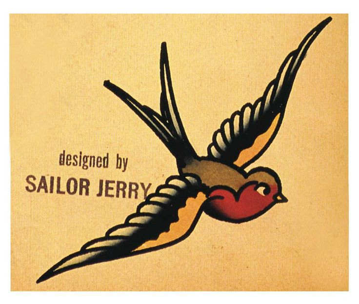 sailor jerry tattoos   Sailor Jerry was a world renowned tattoo artist    Sailor Jerry Swallow Tattoo