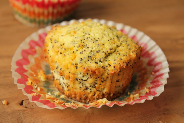 Orange Poppy seed Muffins #glutenfree #paleo #refinedsugarfree #orange ...