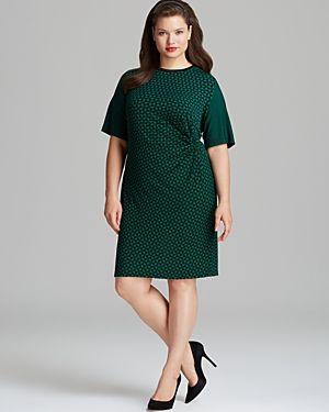 one strap plus size dresses