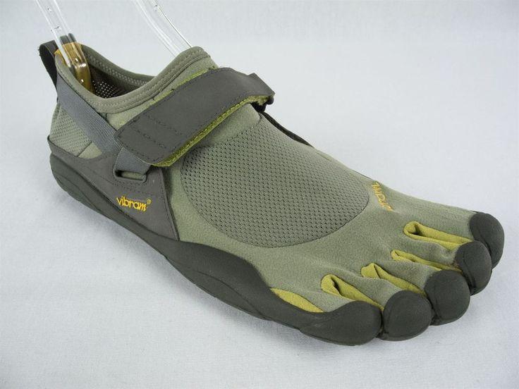 VIBRAM Mens Fivefingers Shoes Size 45 12 12.5 Green Lemon Athletic KSO