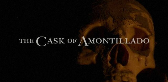 thesis for the cask of amontillado
