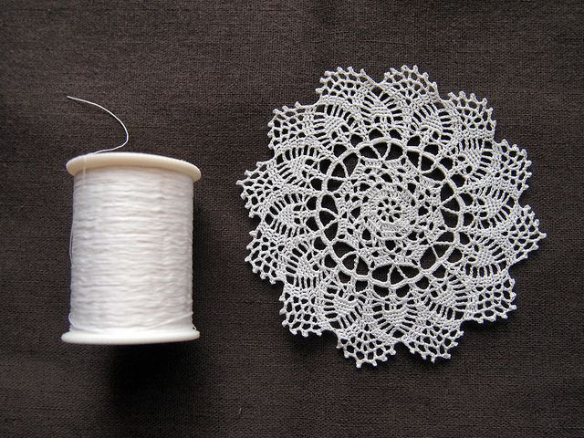 Free Crochet Patterns For Mini Doilies : crochet mini doily Crochet Pinterest