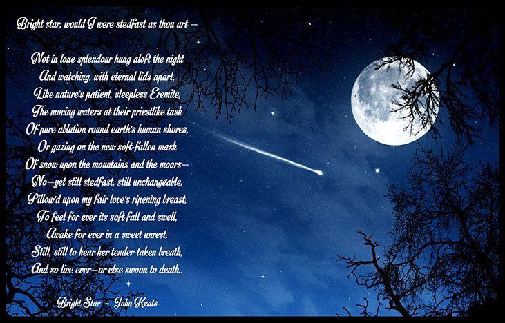 Bright Star Would I Were Steadfast As Thou Art Wikipedia ...