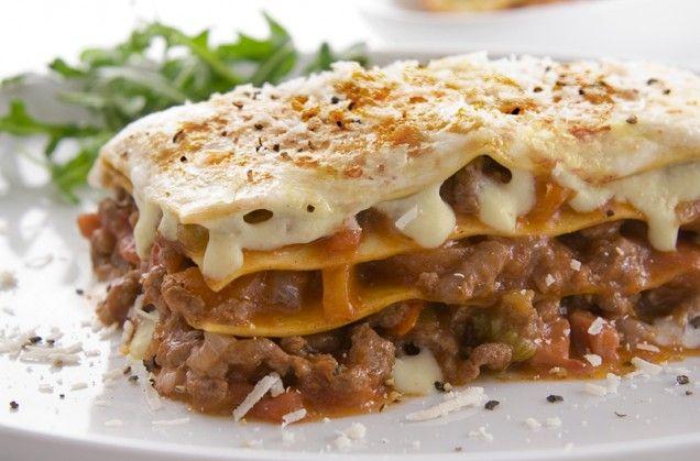 Lasagna al Forno quick, simple, tasty version.