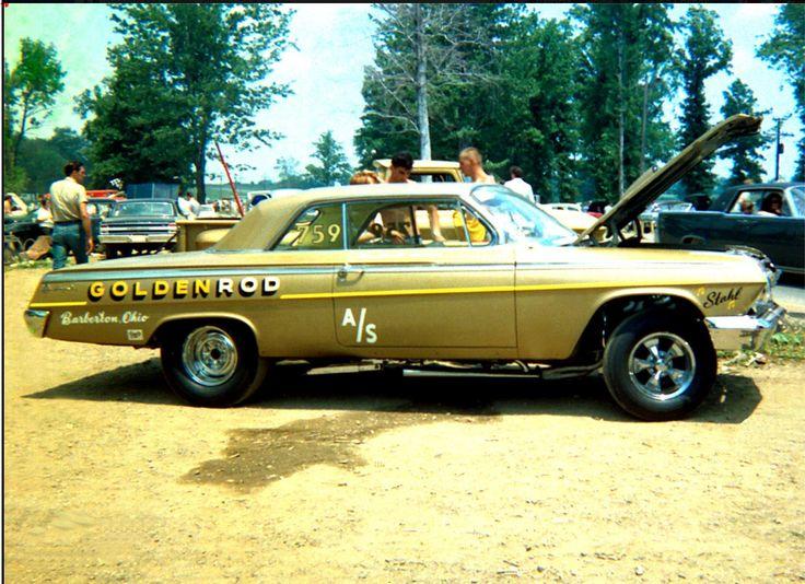 Vintage Super Stock Drag Racing Cars