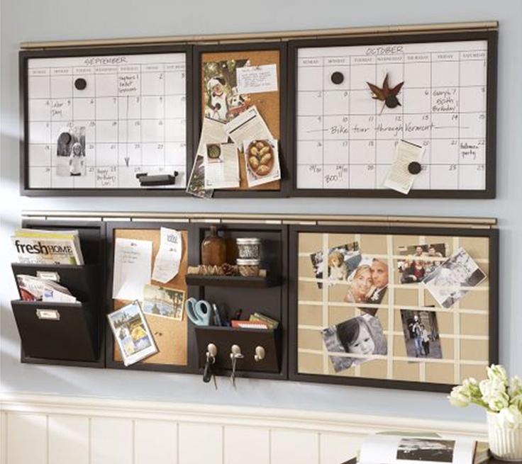 Organizador de pared para mi casa pinterest - Organizador cajon oficina ...