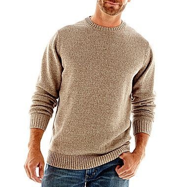 JC Penney St Johns bay khaki sweater
