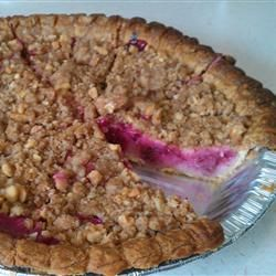 Raspberry Sour Cream Pie | Recipes | Pinterest
