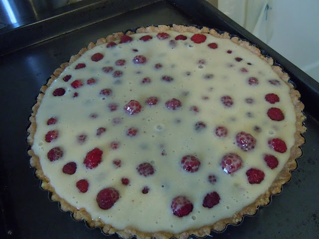 Brown Butter Raspberry Tart | Pies & Tarts!! | Pinterest