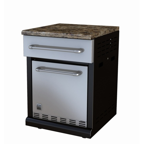 Master forge outdoor fridge backyards and outdoors for Outdoor kitchen refrigerators built in