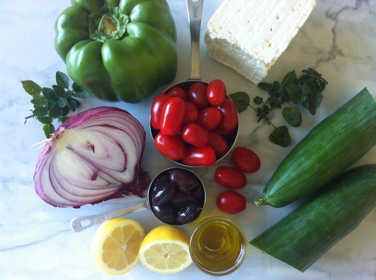 Classic Greek Salad   Food   Pinterest