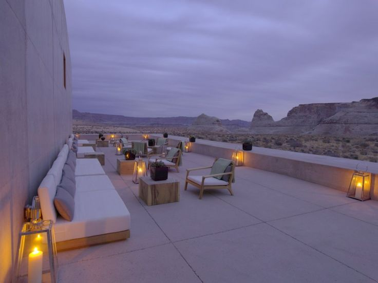 Some other pictures of The Amangiri Resort and Spa, located on a 600+ acre site in southern Utah, is a collaboration between three architects: Marwan Al-Sayed, Wendell Burnette and Rick Joy.