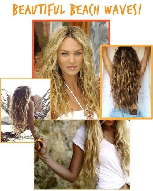 natural beach waves tumblr hairstyles tutorial beach waves