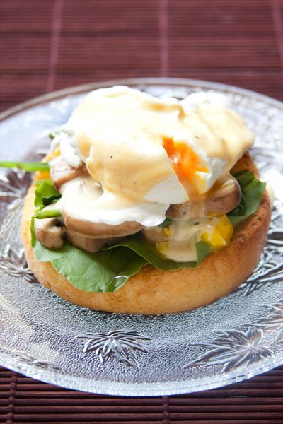 WS Eggs Benedict #Healthy #Skinny #Recipe #Breakfast #Eggs