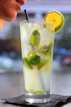 ... strawberries. You've got Strawberry Jalapeno Lemonade... my fave drink