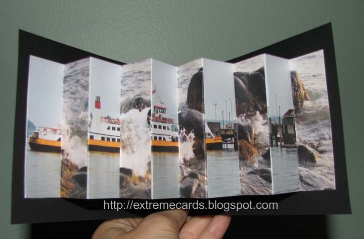 Lenticular Pop Up card @ extremecards