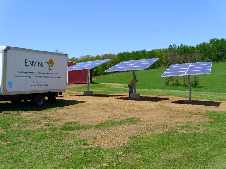 Pole mounted solar pv array | Renewable Energy | Pinterest