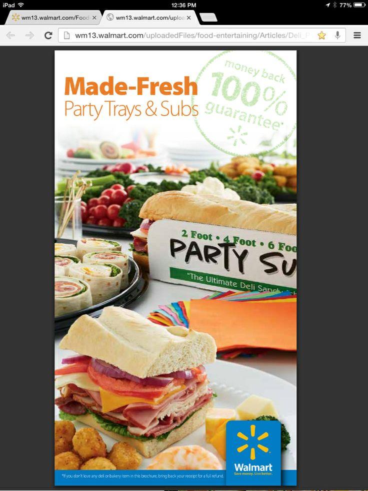 Awesome Walmart Deli Platters Order Form Homekeepxyz