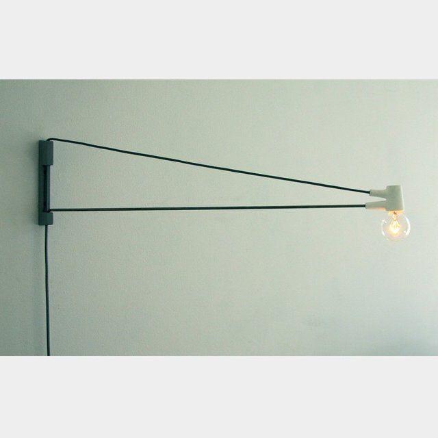 cord lamp wall lighting light pinterest. Black Bedroom Furniture Sets. Home Design Ideas