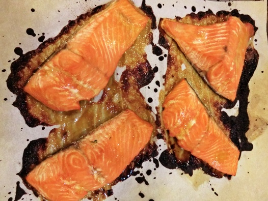 Miso Ginger Glazed Salmon I had something similar recently in a ...