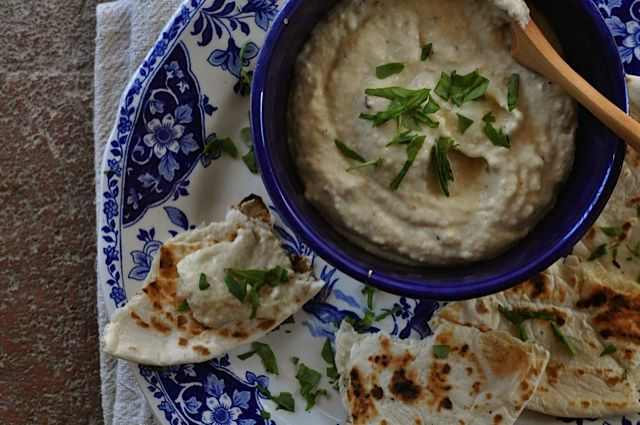 ... smoky sweet spread is playful and red pepper eggplant dip it s smoky