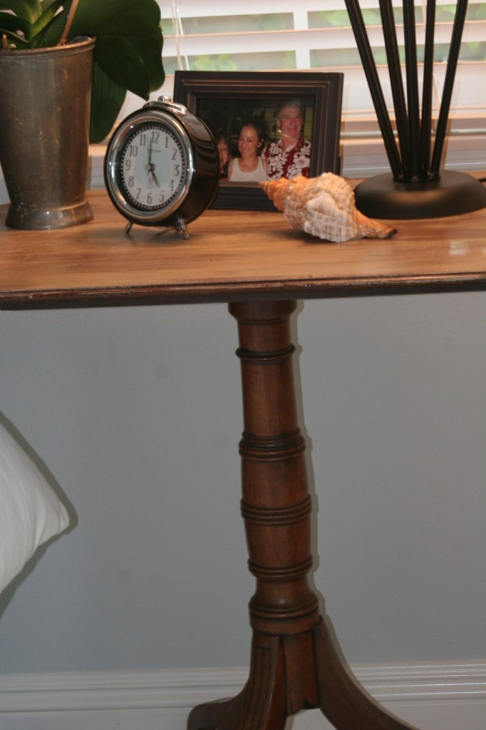 refinished side table | Furniture techniques | Pinterest