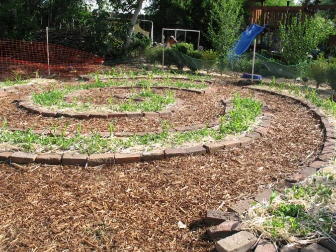 Permaculture design secret garden pinterest for Permaculture garden designs