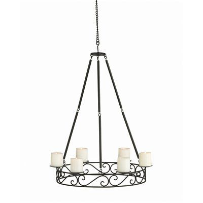 Allen roth gazebo candle chandelier lowe s canada for the home
