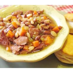 My Kitchen By The Lake: Easter Leftovers...Basic Ham & Bean Soup