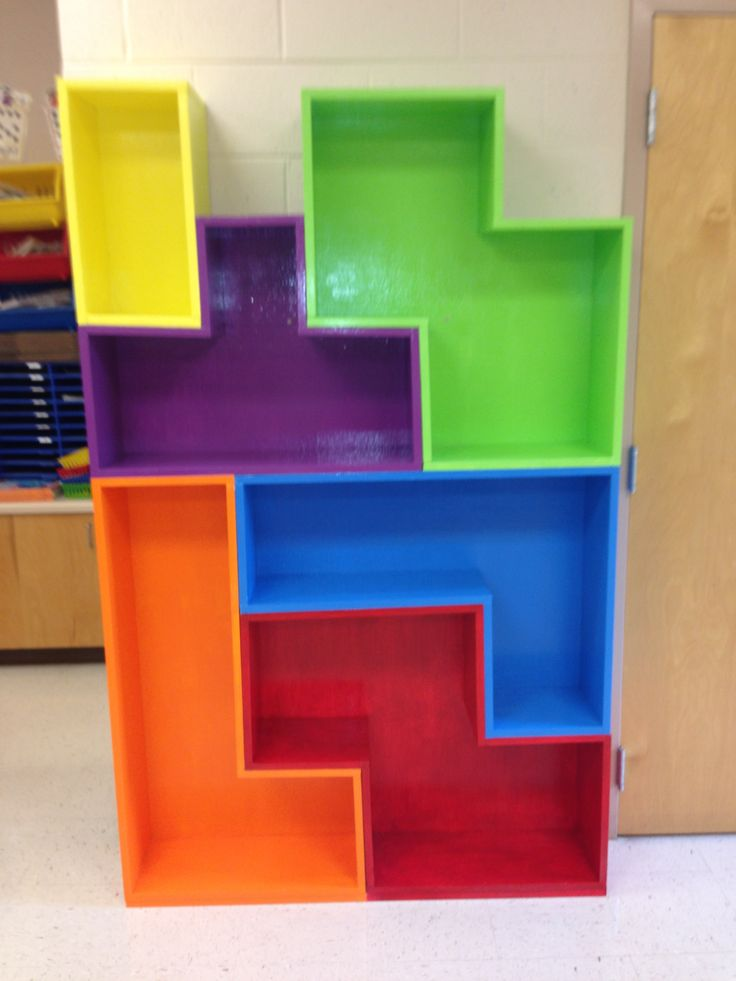 My Tetris Bookshelf For My Classroom Classroom