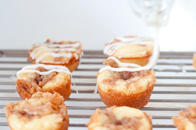 Mini Cinnamon Streusel Pancake Muffins | BREAKFAST | Pinterest