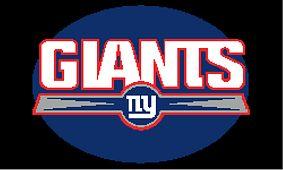 New York Giants Inspired Crochet Baby Football Helmet by