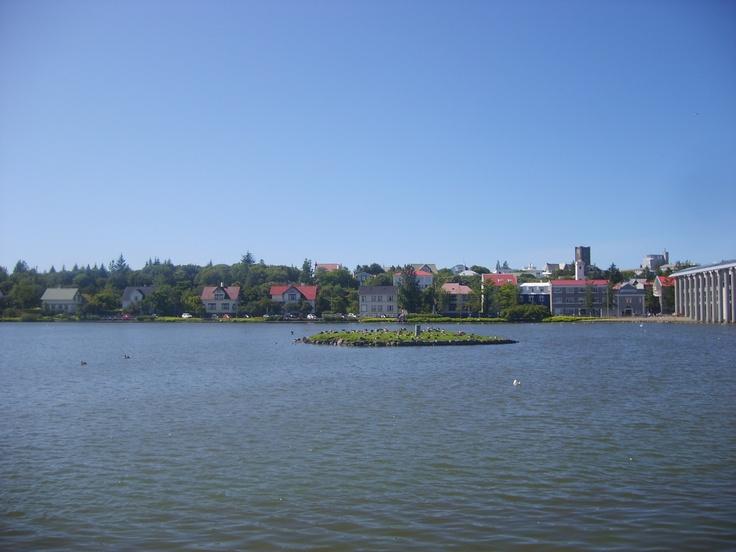 The Reykjavik City Center Pond Travel Is The Key Pinterest