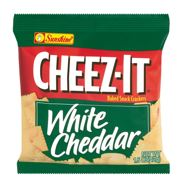 White Cheddar Cheez-Its | American Care Package | Pinterest