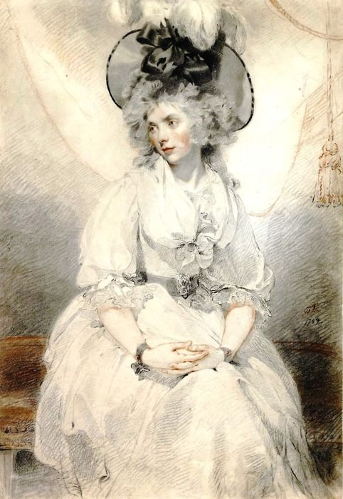 Sir Thomas Lawrence  Mary Hamilton (1789)