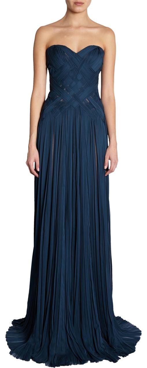 J. Mendel Lattice Gown