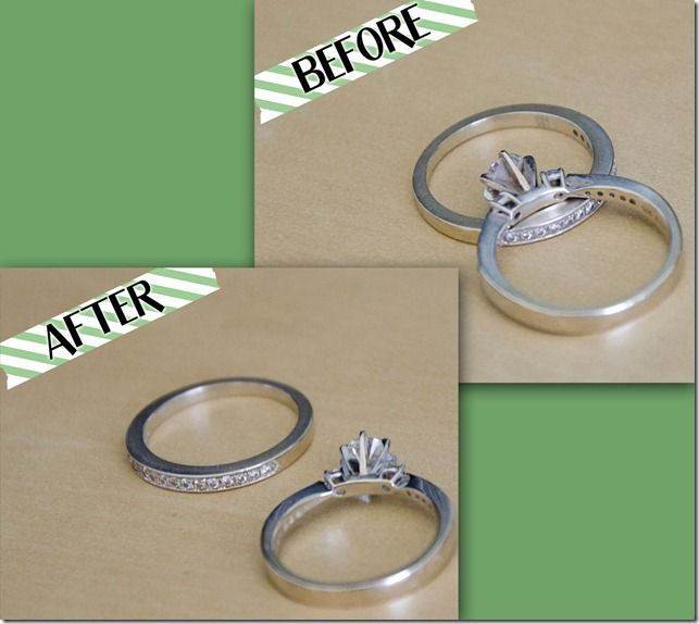 Clean Your Wedding Rings At Home