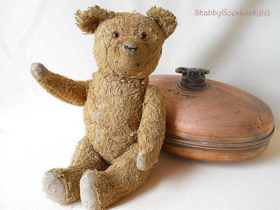 Hard stuffed vintage teddy bears