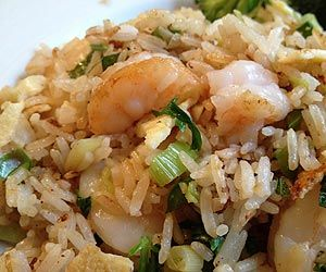 Spicy Thai Shrimp Fried Rice | Recipe