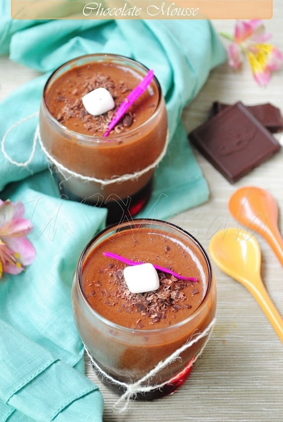 Nearly Instant, Eggless Chocolate Mousse | Cakes & Candy & Pie, oh my...