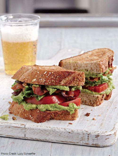 Perfect BLAT (Bacon, Lettuce, Avocado & Tomato) from BACON NATION by ...