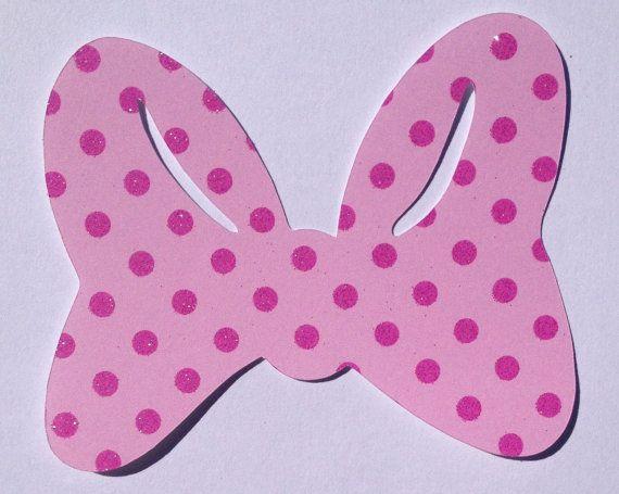Free printable minnie mouse bow joy studio design for Free printable minnie mouse bow template