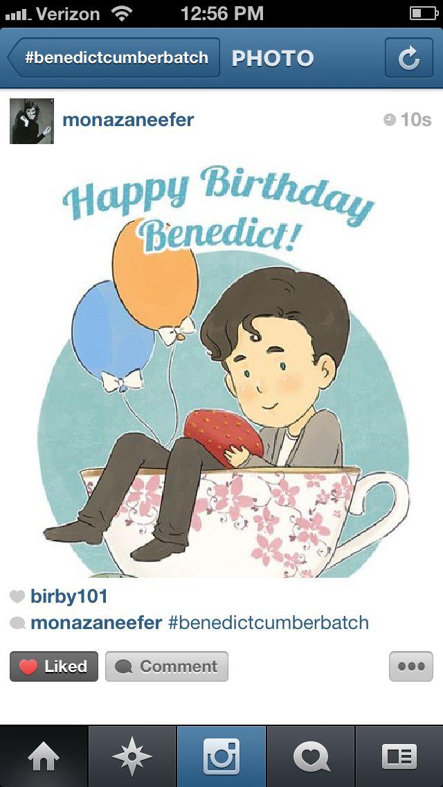 Coolest pin! Happy birthday Benny! | Sherlock / Benedict ... Benedict Cumberbatch Facebook