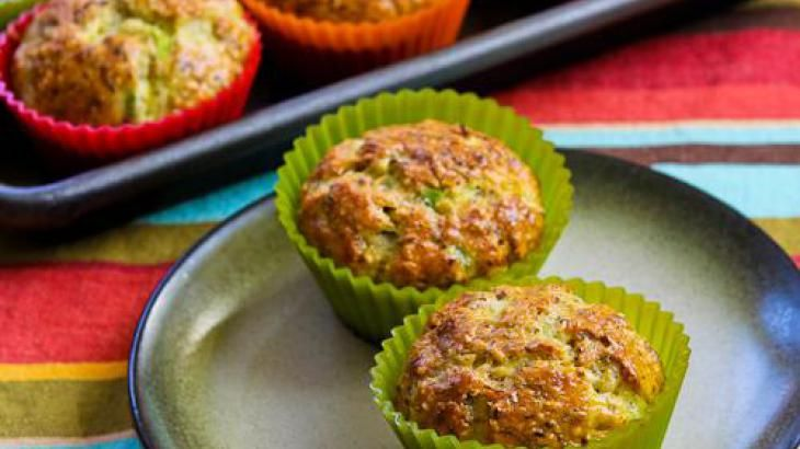 Flourless Egg and Cottage Cheese Savory Breakfast Muffin Recipe ...