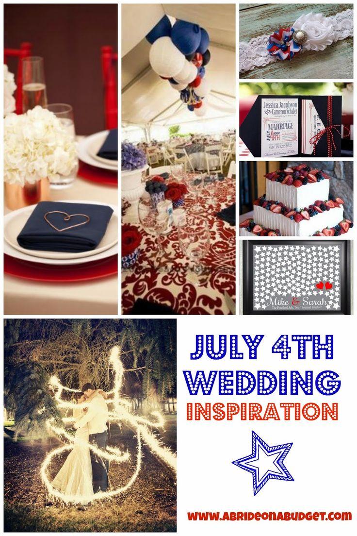 july 4th wedding