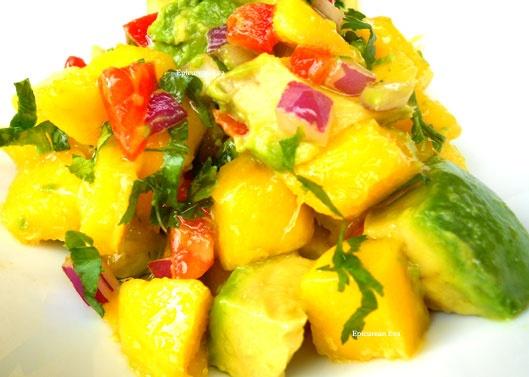 Avocado~Mango Salsa | Flavours | Pinterest
