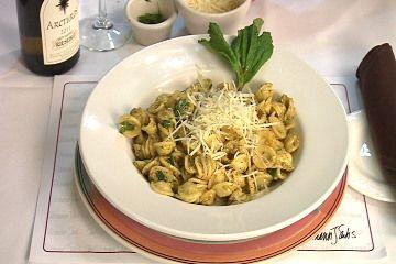 Orecchiette with Scallions and Pistachio Pesto From frankies spuntino ...