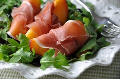 Melon wrapped in prosciutto | Food & Drink | Pinterest