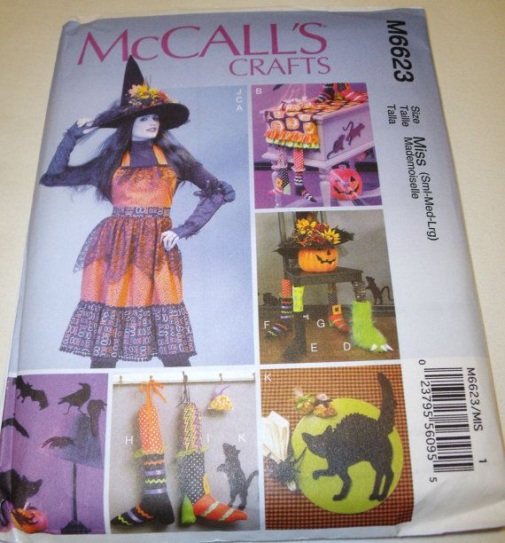 runner McCalls apron gloves table  Pattern Crafts patterns Halloween New chair mccalls runner table
